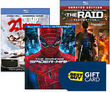 Best Buy - Free $10 Gift Card w/ 2 Select Movies Order + Free Shipping