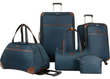 Nine West Round Trip 5-Piece Luggage Set