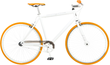 Mongoose Men's Disorder 700c Fixie Bike