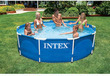 Intex 10′ × 30″ Metal Frame Swimming Pool