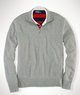 Men's Double-Faced Half-Zip Pullover
