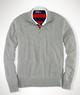 Men's Double-Faced Half-Zip Pullover