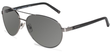Tumi Polarized Aviator Sunglasses
