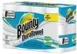 Bounty DuraTowel Cloth-Like Paper Towels, 40-Count + $10 GC