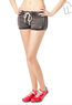 Women's Faded Wash Knit Shorts