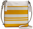 Coach Women's Bleecker Striped Canvas North/South Swingpack