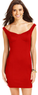 Tempted Juniors' Off-The-Shoulder Bodycon Dress