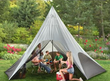 20' Teepee Shelter