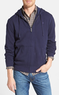 Men's Full Zip Pique Knit Hoodie