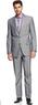Alfani Light Grey Heather Suit