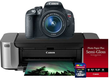 Canon EOS Rebel T5i w/ 18-55 IS Lens + Printer + 32GB SD