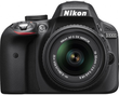 Nikon D3300 24.2MP Digital SLR + 18-55mm VR II Lens (Refurb)