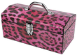 Sainty Art Works 16 Pink Leopard Art Deco Tool Box