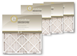 Enviroflow Pollen and Dust Control Air Filter 4-Pack