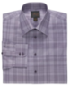 Men's Joseph Abstract Plaid Cotton Dress Shirt