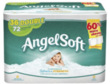 Angel Soft 2-Play Bathroom Tissue, 72 Count + $10 Gift Card