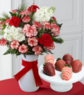 50% Off Peppermint Holiday Bouquet + 6 Chocolate Covered Strawberries