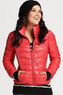 Black Rivet Women's Lightweight Packable Puffy Jacket