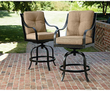La-Z-Boy Charlotte Patio Bar Stools 2-Piece Set