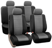 Set of Faux-Leather Car Seat Covers
