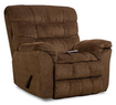 Simmons Upholstery James Recliner Heat & Massage