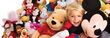 Disney Store - Plush Dolls: Buy One Get One for $1
