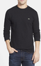 Lacoste Men's Waffle Knit Long Sleeve T-Shirt