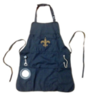 NFL Team Logo 5-Pocket Grilling Apron w/ Bottle Opener