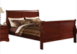 ACME Furniture Louis Philippe III Sleigh Panel Queen Bed