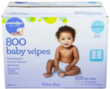 2x BabiesRUs Unscented Wipes 800-Packs