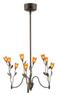 Bel Air Lighting 9-Light Tulip Chandelier
