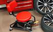 Heavy-Duty Mobile Mechanic Seat