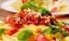 Zona's Italian American Cuisine Coupons San Clemente, California Deals