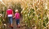 Pumpkinville Corn Maze Coupons Mitchellville, Iowa Deals