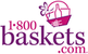 1-800-BASKETS - $10 Off $49.99 Gift Basket Order