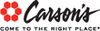 Carson's - $10 Off $25+ In-Store Purchase