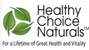 Healthy Choice Naturals - $9.95 Flat Rate Shipping to Canada