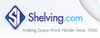 Shelving.com - 15% Off Wire Mesh and Warehouse Shelving